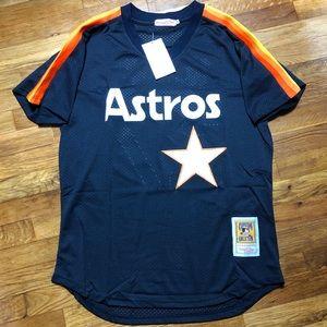 NWT Jose Altuve Houston Astros MLB Retro Jersey